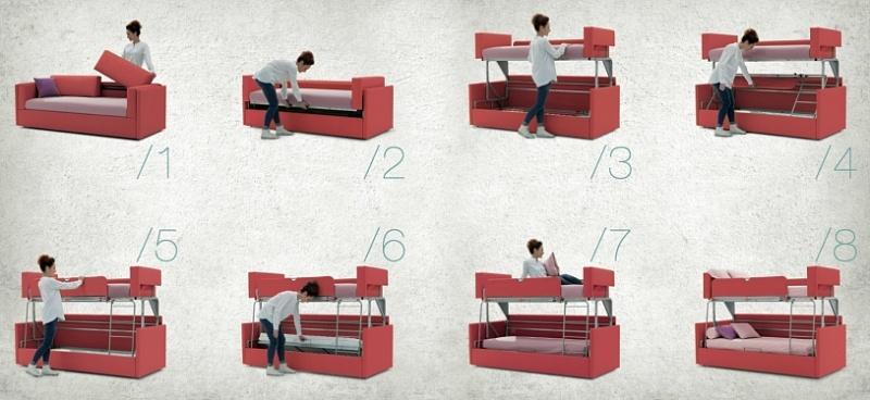 Sofas cama otra forma de descanso apartmueble - Divano letto a castello prezzi ...